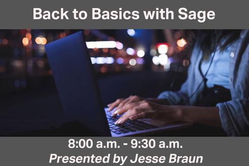 Back to Basics - edit 2