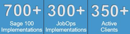 Sage 100 JobOps Active Clients