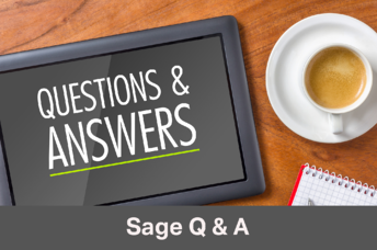 Sage q and a updated