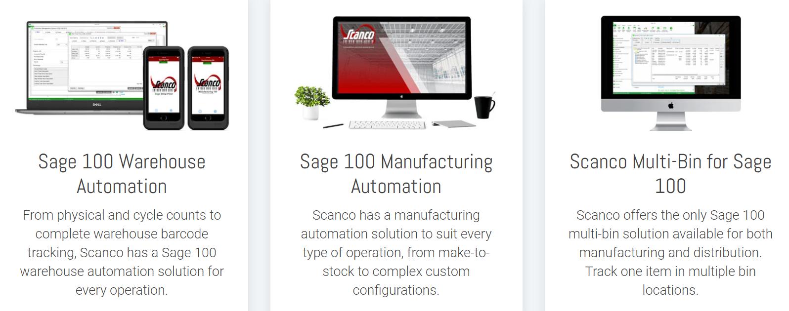 Scanco - Sage 100
